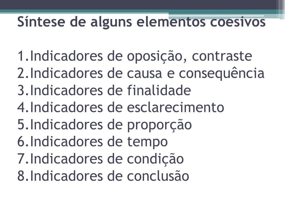 Síntese de alguns elementos coesivos 1