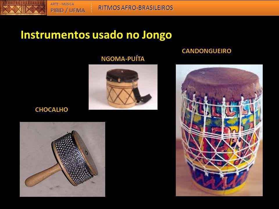 Instrumentos usado no Jongo