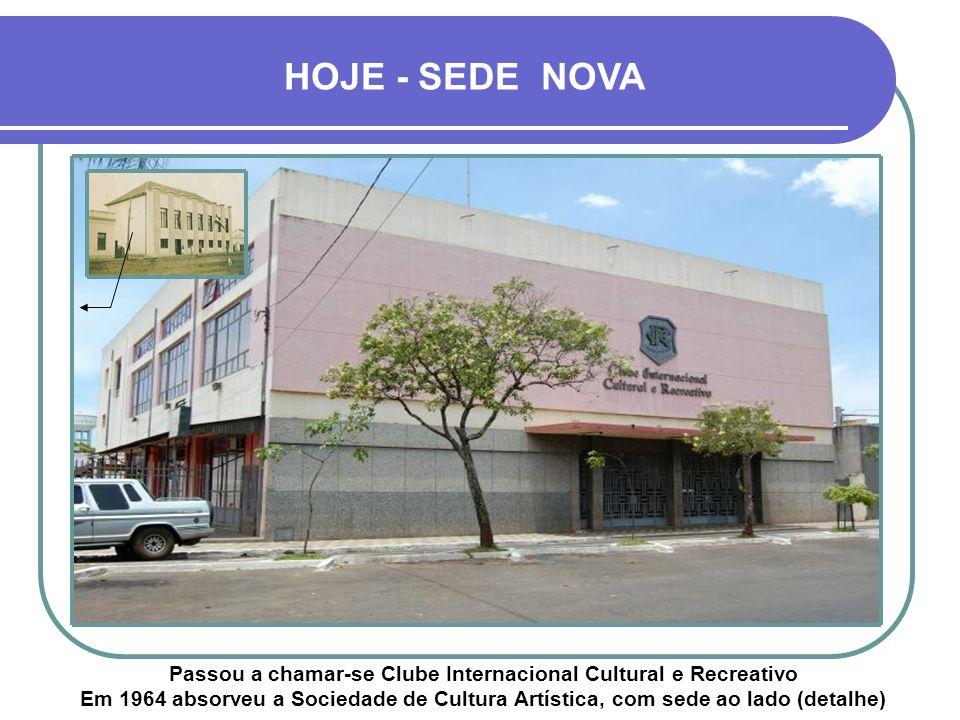 HOJE - SEDE NOVA