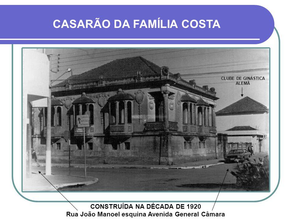 CLUBE DE GINÁSTICA ALEMÃ