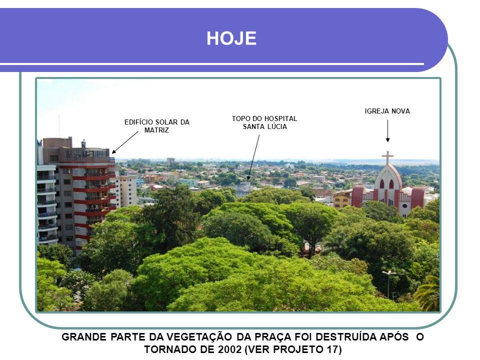 TOPO DO HOSPITAL SANTA LÚCIA EDIFÍCIO SOLAR DA MATRIZ