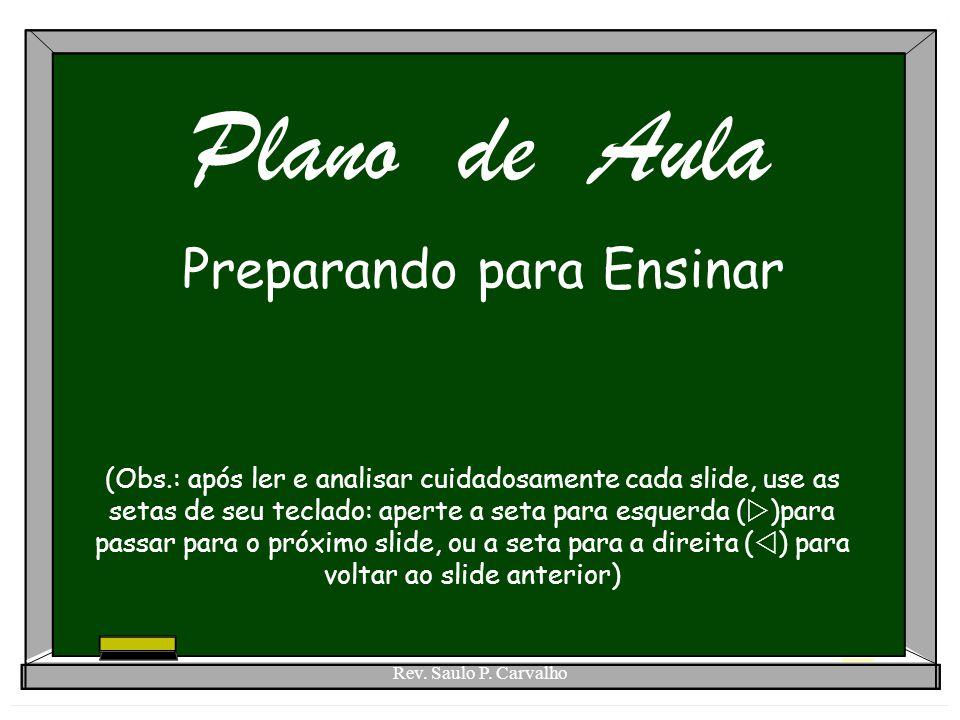 Preparando para Ensinar