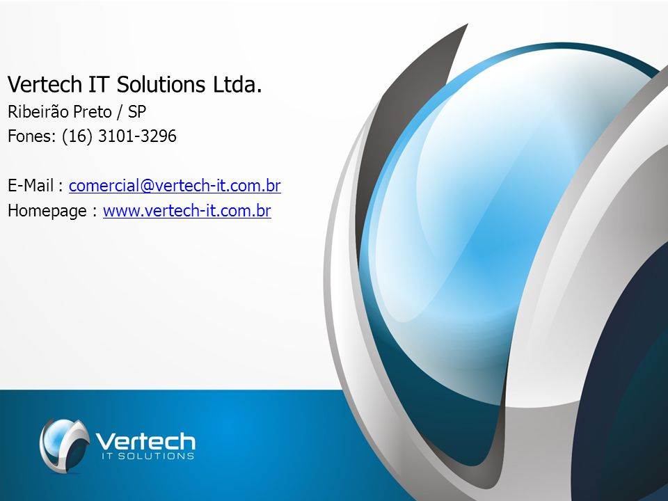 Vertech IT Solutions Ltda.