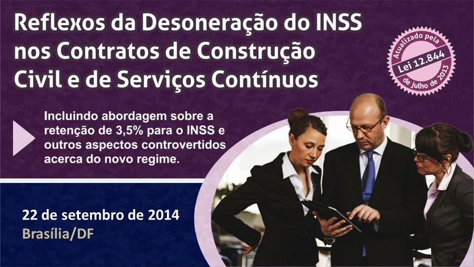 22 de setembro de 2014 Brasília/DF