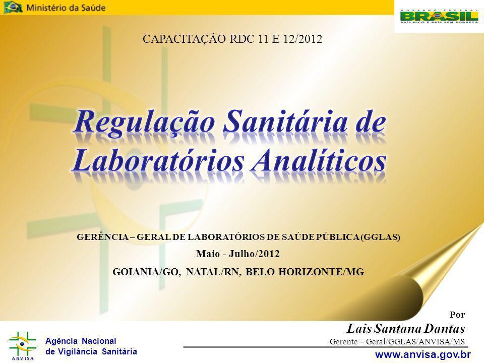 Regulação Sanitária de Laboratórios Analíticos