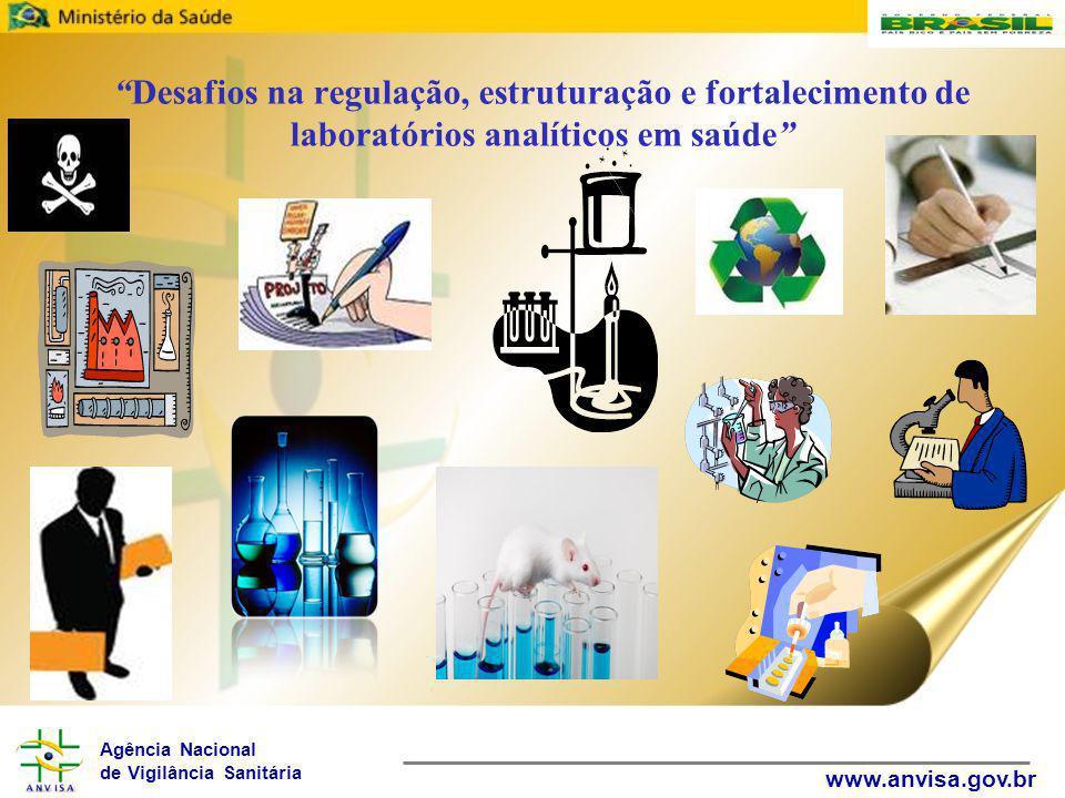 Desafios na regulação, estruturação e fortalecimento de laboratórios analíticos em saúde