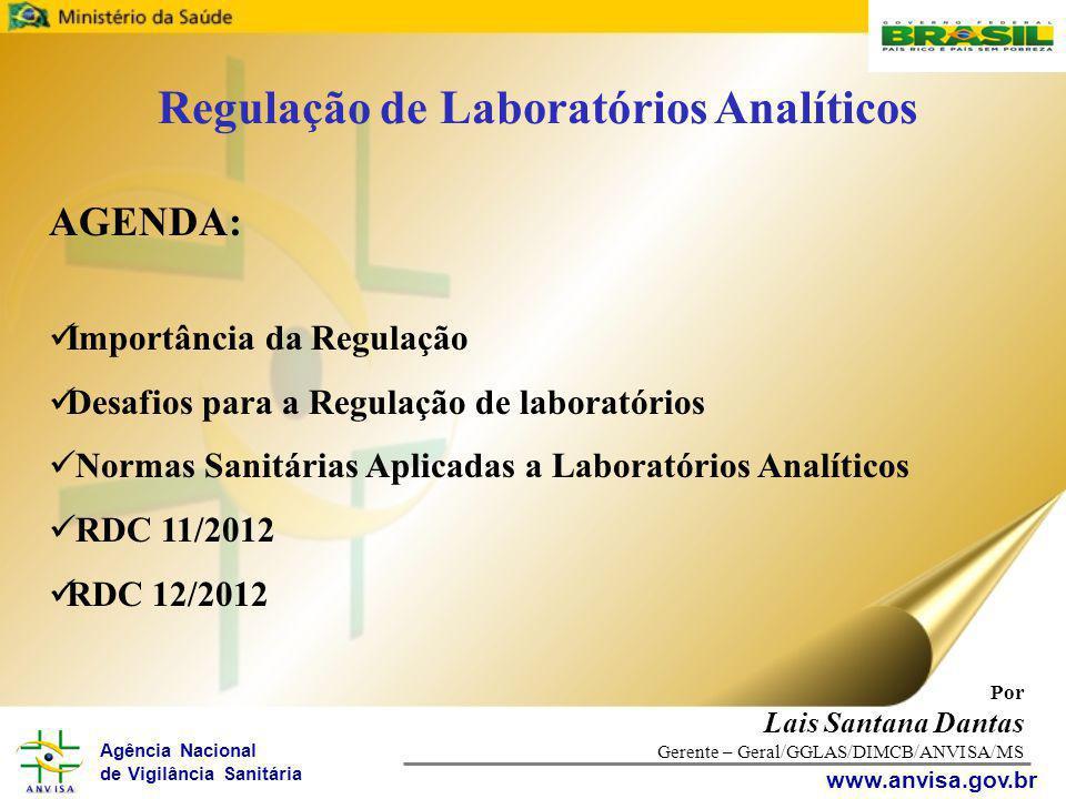Regulação de Laboratórios Analíticos
