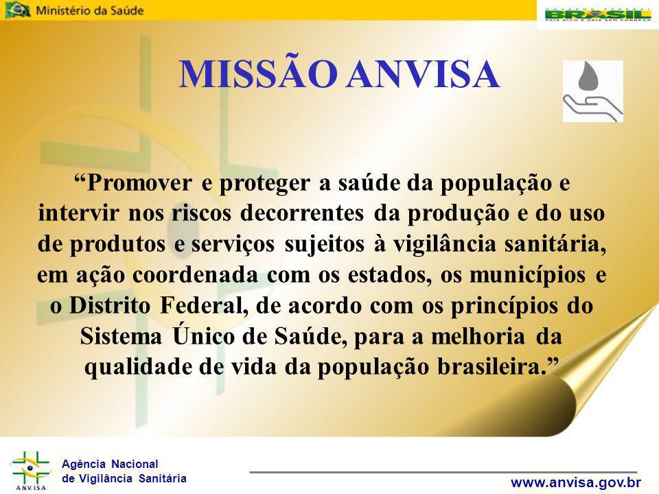 MISSÃO ANVISA