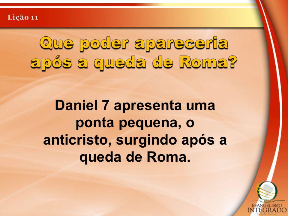 Que poder apareceria após a queda de Roma
