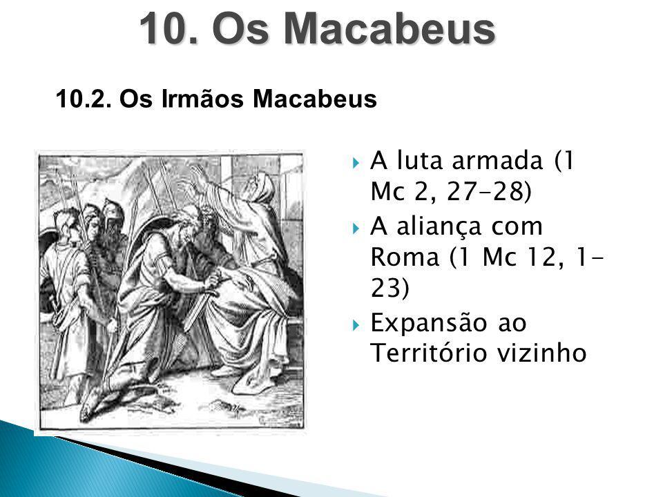 10. Os Macabeus 10.2. Os Irmãos Macabeus A luta armada (1 Mc 2, 27-28)