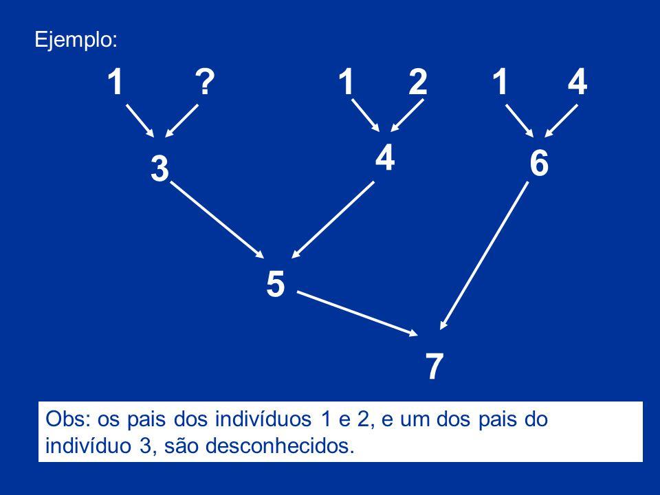 Ejemplo: 1. . 1. 2. 1. 4. 4. 6. 3.