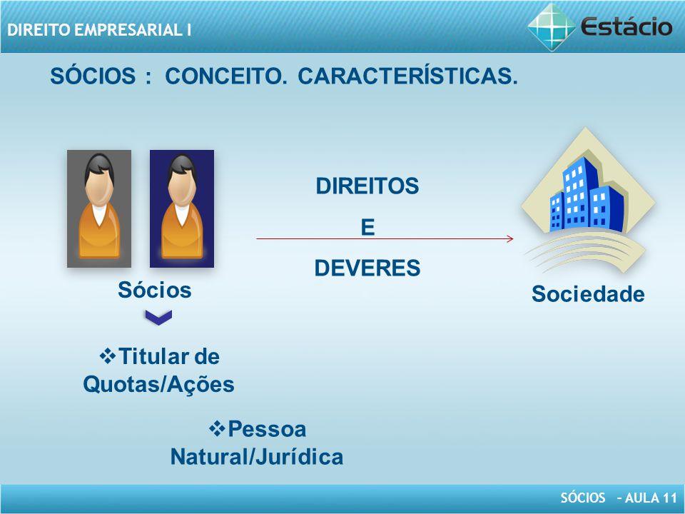 Titular de Quotas/Ações Pessoa Natural/Jurídica
