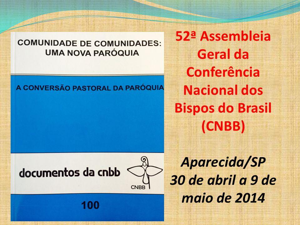 52ª Assembleia Geral da Conferência Nacional dos Bispos do Brasil (CNBB)