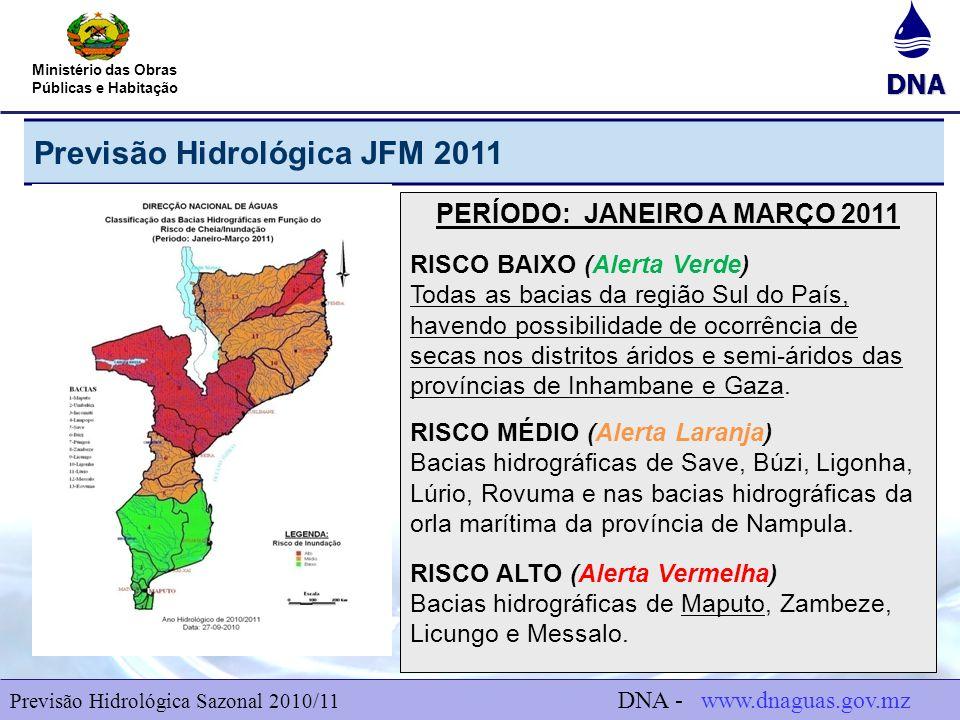 PERÍODO: JANEIRO A MARÇO 2011