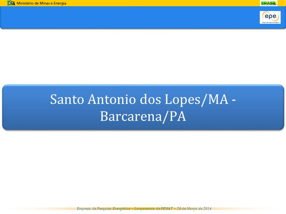Santo Antonio dos Lopes/MA - Barcarena/PA