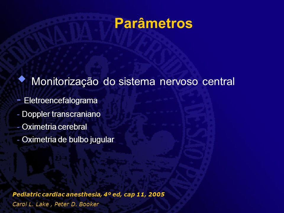 Monitorização do sistema nervoso central
