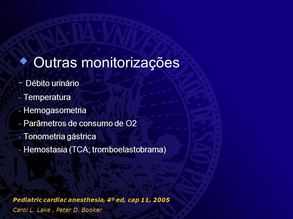 Outras monitorizações
