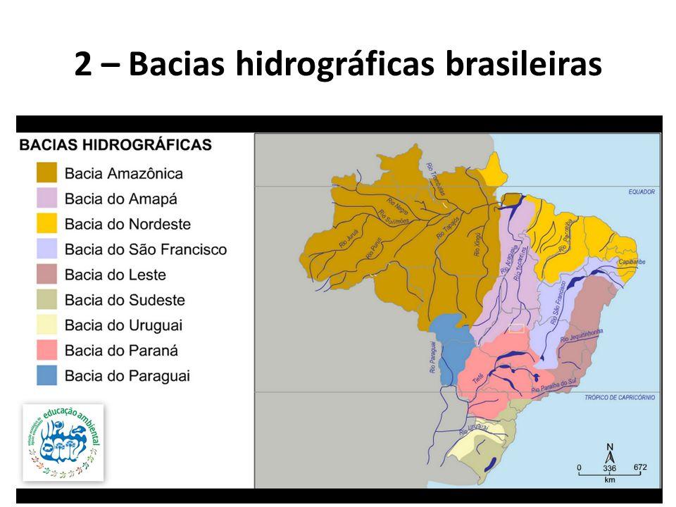 2 – Bacias hidrográficas brasileiras