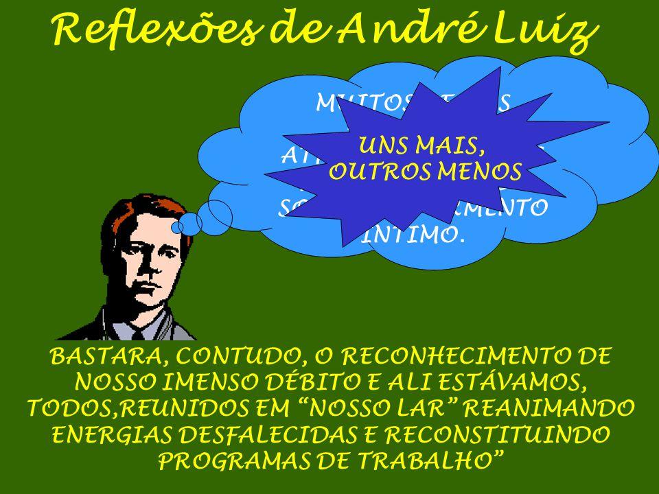 Reflexões de André Luiz