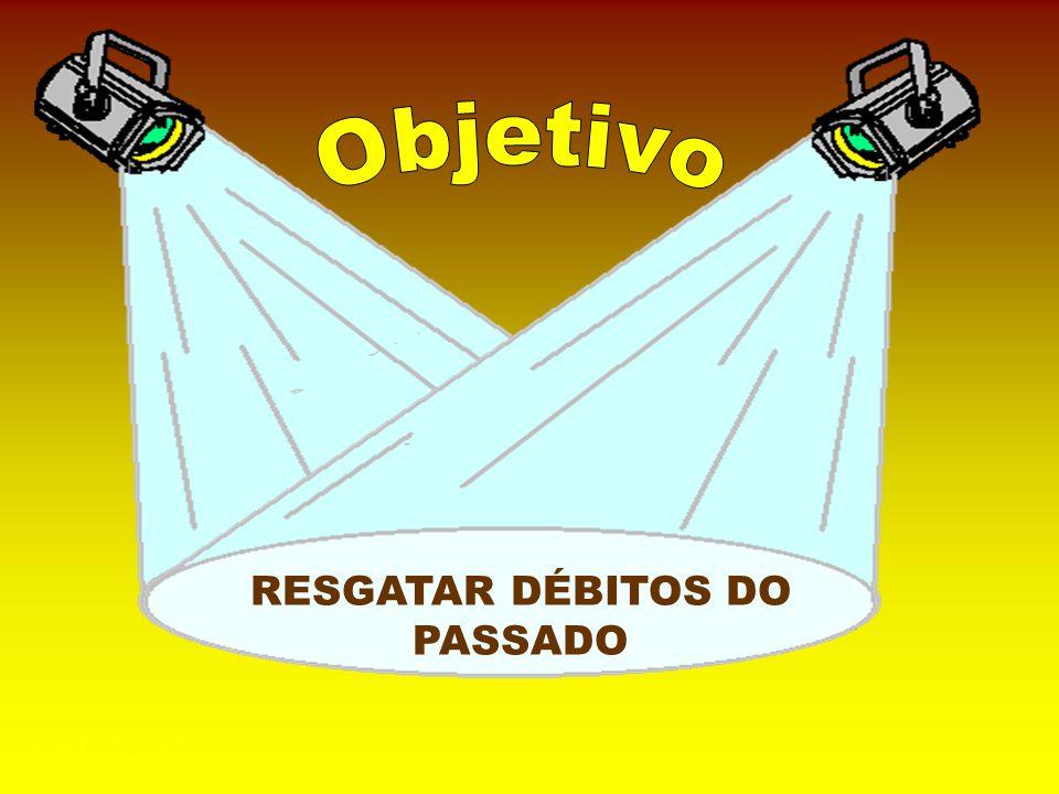 Objetivo Objetivo RESGATAR DÉBITOS DO PASSADO