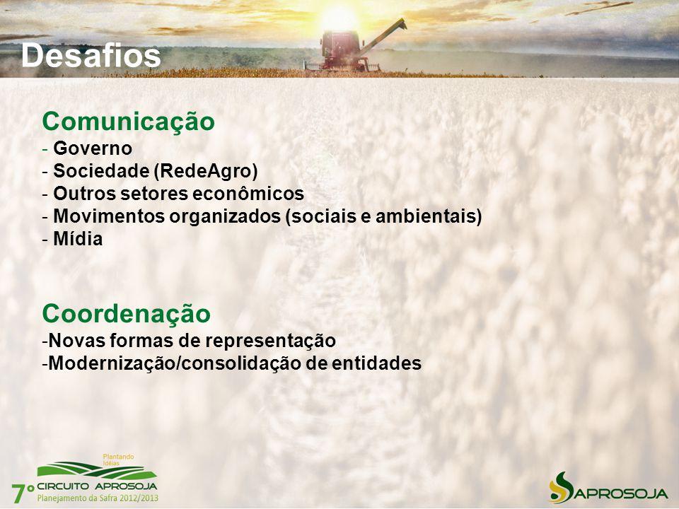 Desafios Comunicação Coordenação Governo Sociedade (RedeAgro)