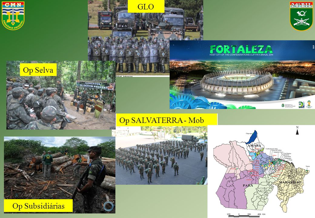 GLO Op Selva Op SALVATERRA - Mob Op Subsidiárias