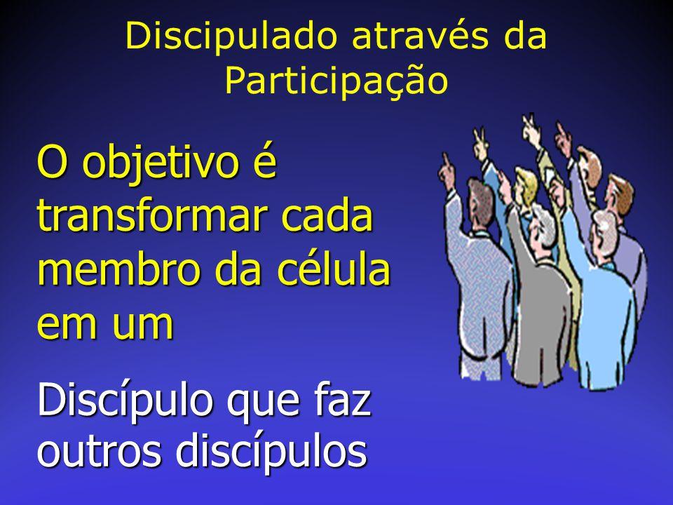 Discipulado através da Participação