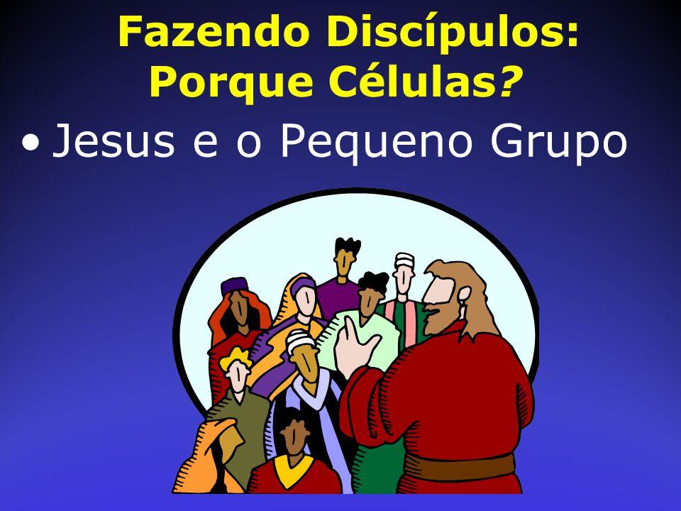 Fazendo Discípulos: Porque Células