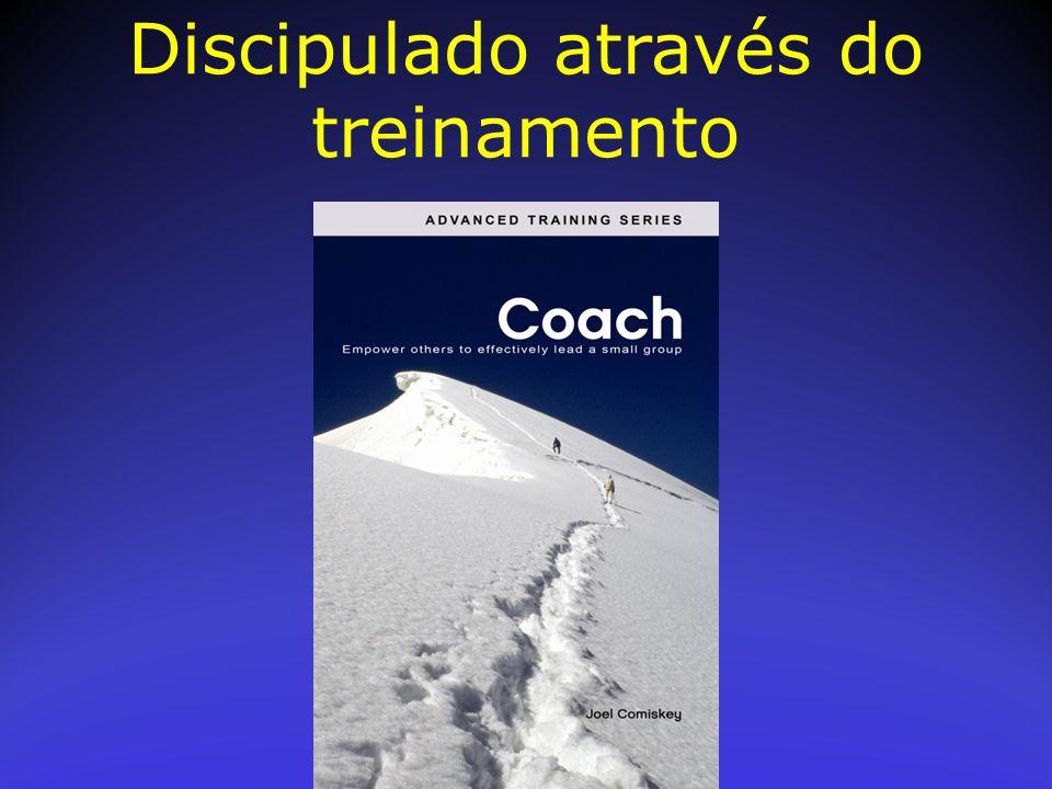 Discipulado através do treinamento