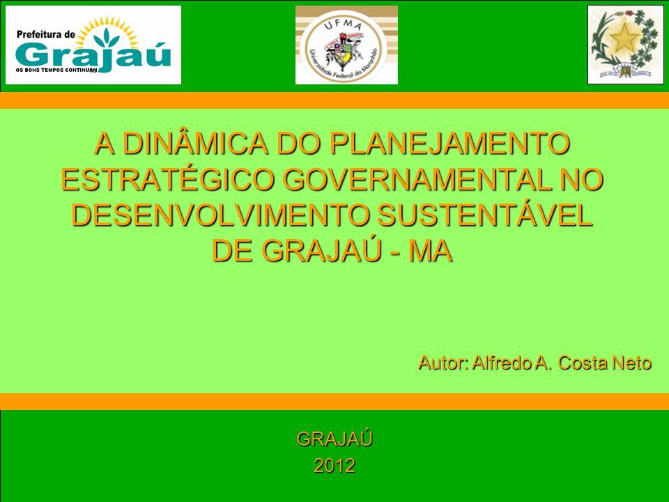A DINÂMICA DO PLANEJAMENTO ESTRATÉGICO GOVERNAMENTAL NO DESENVOLVIMENTO SUSTENTÁVEL DE GRAJAÚ - MA