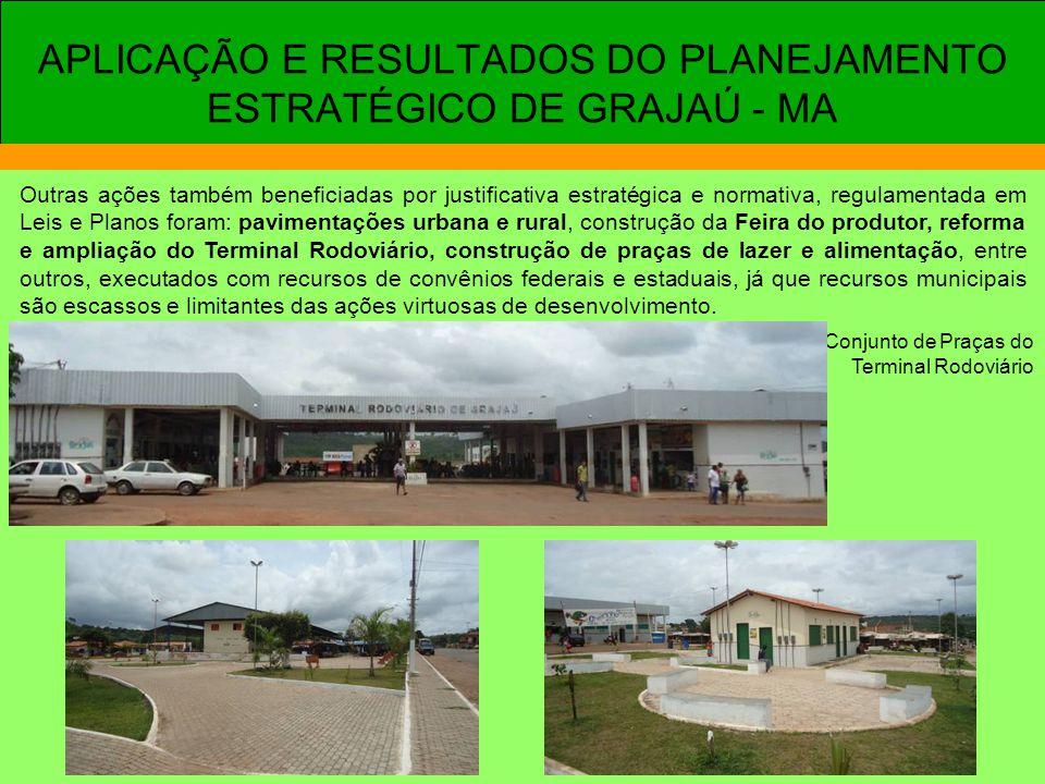 APLICAÇÃO E RESULTADOS DO PLANEJAMENTO ESTRATÉGICO DE GRAJAÚ - MA