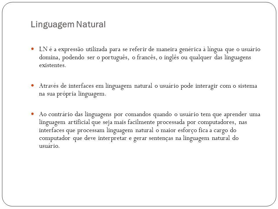 Linguagem Natural