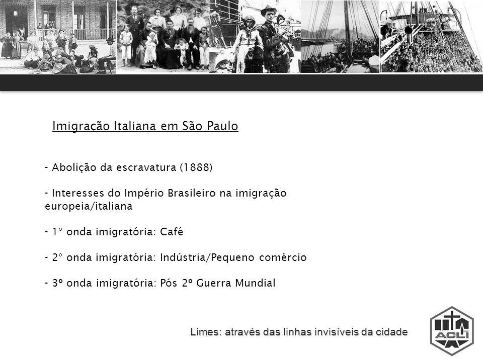 Imigração Italiana em São Paulo