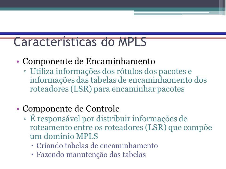 Características do MPLS