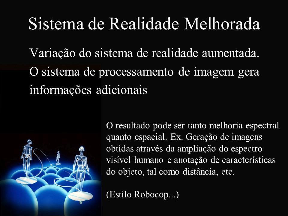 Sistema de Realidade Melhorada