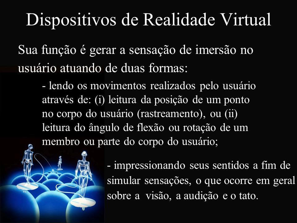 Dispositivos de Realidade Virtual