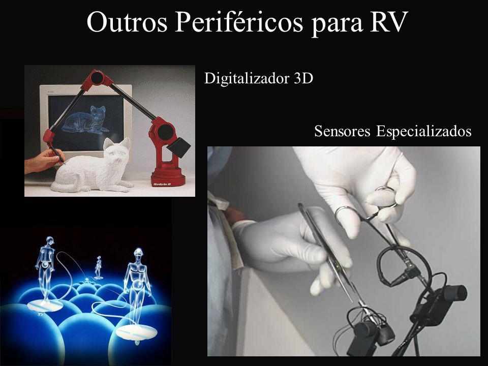 Outros Periféricos para RV