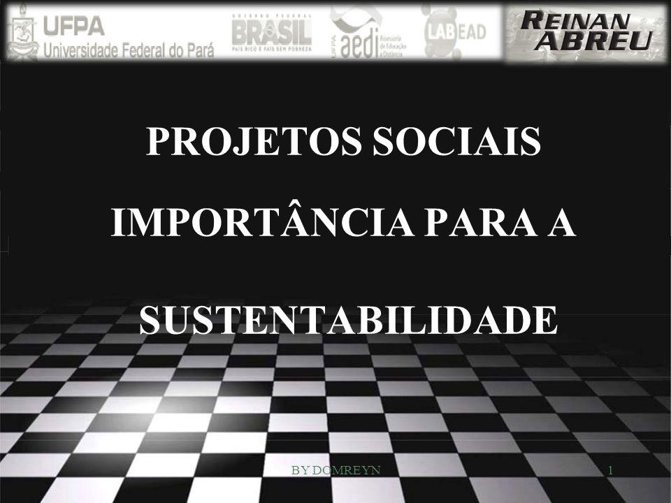 PROJETOS SOCIAIS IMPORTÂNCIA PARA A SUSTENTABILIDADE