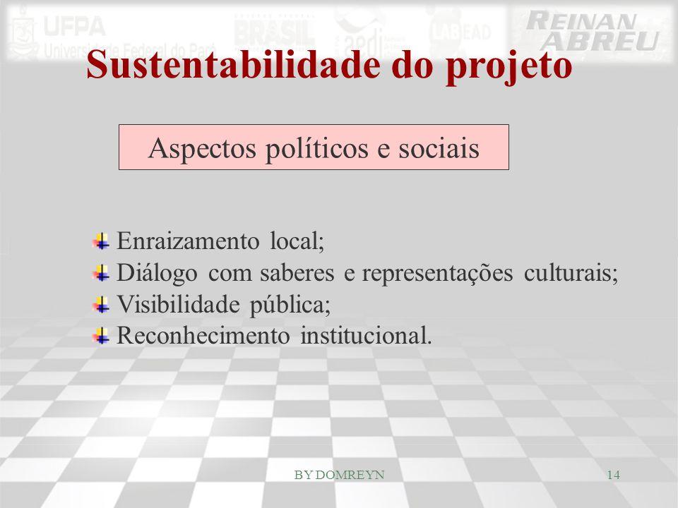 Sustentabilidade do projeto