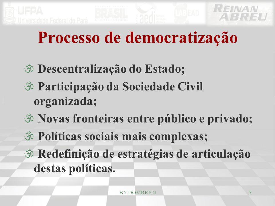 Processo de democratização