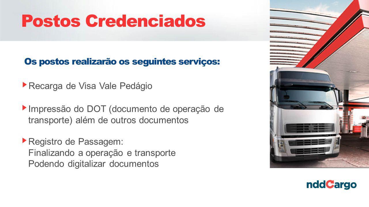 Postos Credenciados Os postos realizarão os seguintes serviços:
