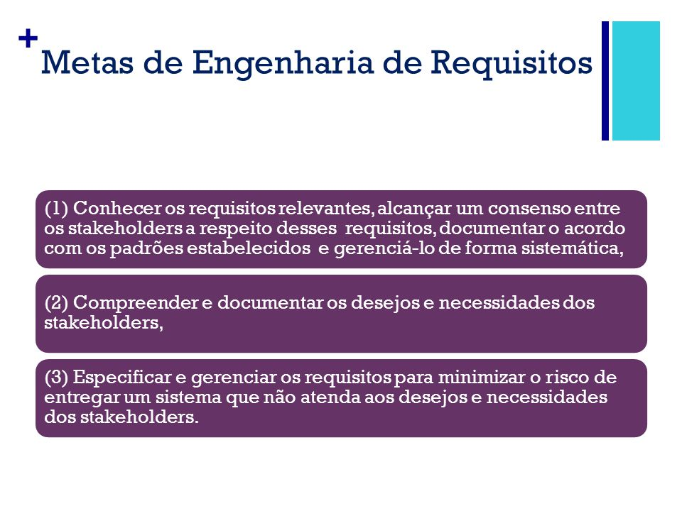 Metas de Engenharia de Requisitos