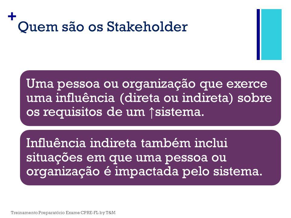 Quem são os Stakeholder