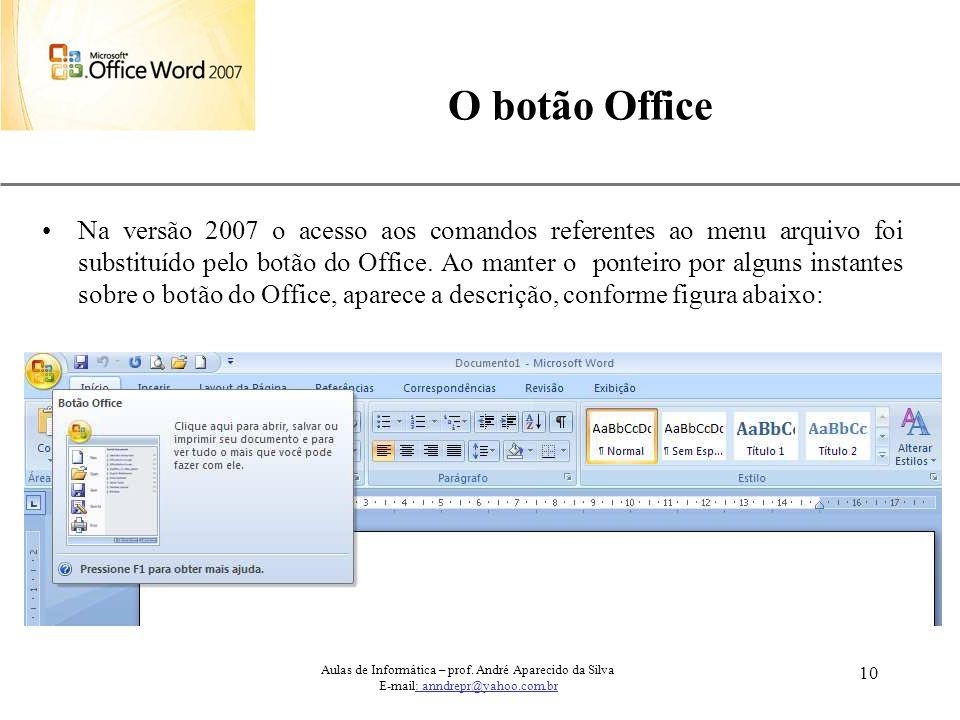 O botão Office