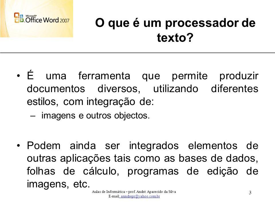 O que é um processador de texto
