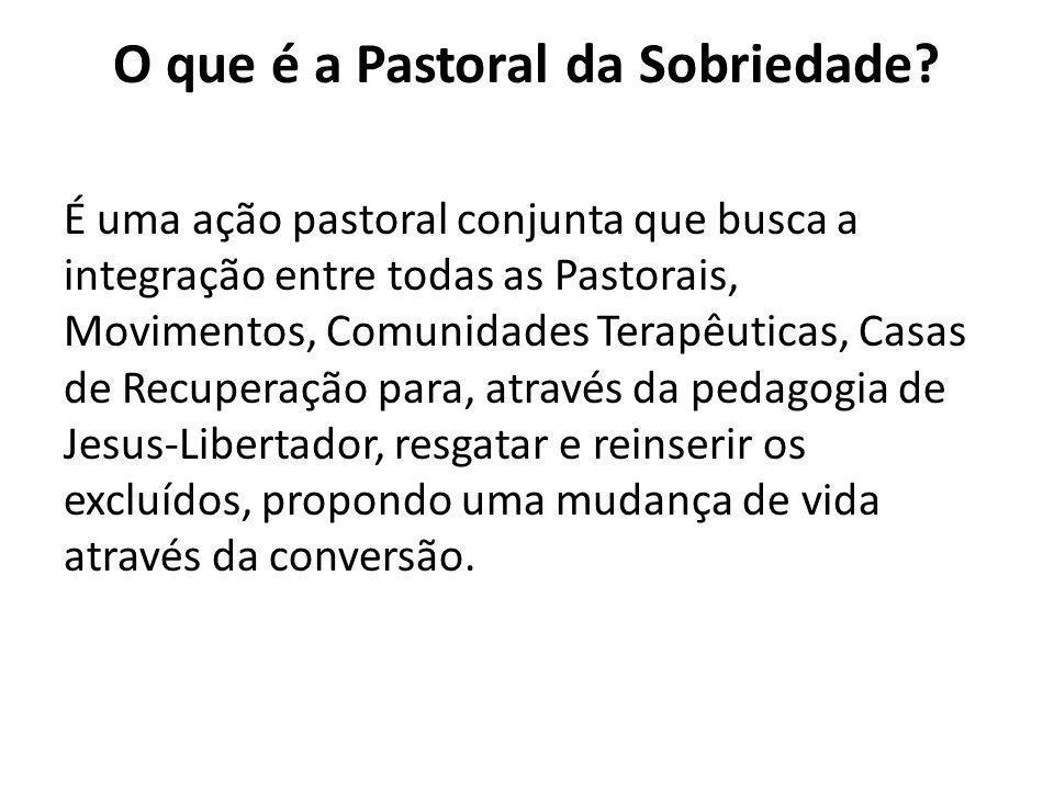 O que é a Pastoral da Sobriedade