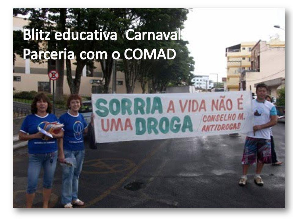 Blitz educativa Carnaval