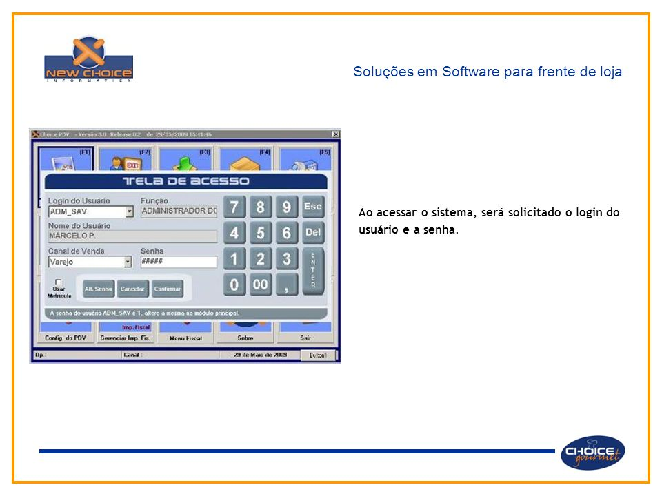 Soluções em Software para frente de loja