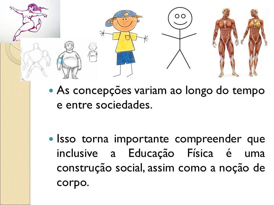 As concepções variam ao longo do tempo e entre sociedades.