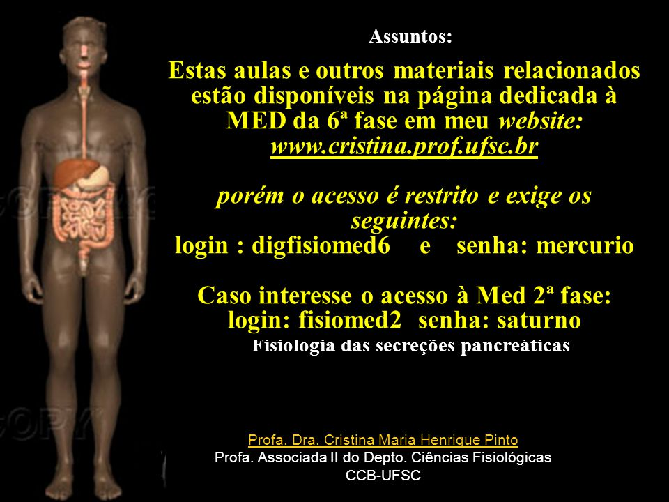 MED da 6ª fase em meu website: www.cristina.prof.ufsc.br